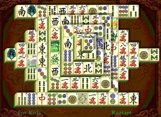 Mahjong - популярная китайская головоломка онлайн